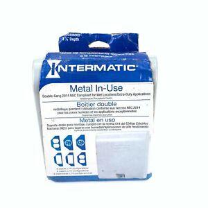 Intermatic WP1030MXD 2 Gang Weatherproof Receptacle Cover