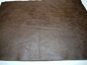"""Large Leather panels 5 pieces Top Quality 18""""x 24"""" Brown"""
