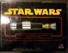 Star Wars Obi-Wan Kenobi .45 Scaled lightsaber Gold Version EP III