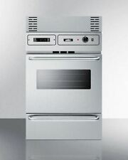 Stainless Steel Gas Wall Oven With Electronic Ignition