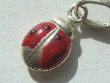 Genuine Links of London ladybird charm fully hallmarked