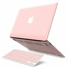 iBenzer Macbook Air 13Case Ruberized Keyboard Laptop Cover Rose Quart Fast Ship