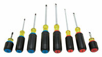 DeWalt  8 pc. Screwdriver Set  Assorted in. Steel