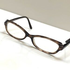 Juicy Couture Eyeglass Frame Full Plastic Rim Brown Womens 48][15-110 Georgiana