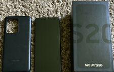 Samsung Galaxy S20 Ultra 5G SM-G988U - 128GB - Cosmic Black (Verizon) Unlocked!
