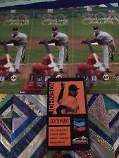 "SF Giants Randy Johnson ""300 Win"" Bobblehead + (3)300 Win Posters 6/4/09 + stub"
