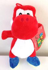 "7.5"" Super Mario Brothers Plush Nintendo Red Yoshi Dinosaur Toy.Licensed. NWT"