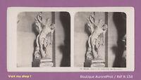 PARIS, MUSÉE DU LOUVRE, STATUE DE SAINT SÉBASTIEN, STÉRÉO VIEW 1903 -R158