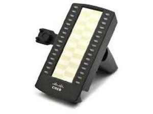 Cisco SPA500S 32 Button Add On Module Complete W/ Desi Paper, Plastic & Bracket