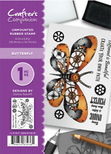 Crafters Companion A6 October Steampunk Collection  Rubber Stamps