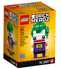LEGO BrickHeadz The Joker Batman DC Comics Villain Clown 41588 Retired 2017 Char