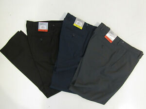 GREG NORMAN Travel Dress Pants Black Gray Blue 32 34 36 38 40 W 29 30 32 34 L