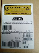 TOTAL ACCESS TA5000 OC3 ATM 4-Port Line Module(1187211E1) NEW, NIB, SEALED!!!!