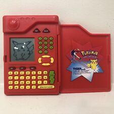 Pokemon Pokedex Vintage Tested Works 1998 Tiger Electronics Rare Kanto Game Toy