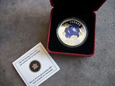 2009 Royal Canadian Mint $30 sterling silver Astronomy Intl Year coin Canada F