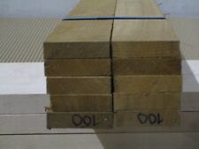 "Teak Decking Boards (10-PCS) 1/2"" x 2"" x 4' Marine Quality Burmese Teak VG RGH."