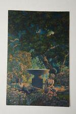 "Maxfield Parrish Reveries Print (R3R) Edison Mazda Calendar 10"" by 6.5"""
