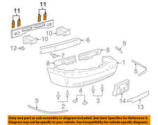 FORD OEM Front Bumper-Retainer Plate 5W1Z17E954AA