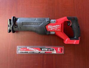 Milwaukee-2821-20 M18 FUEL SAWZALL Reciprocating Saw, Bare Tool with Free Blade