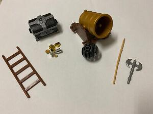 Playmobil Schatztruhe und Kanone und verschiedenes Zubehör