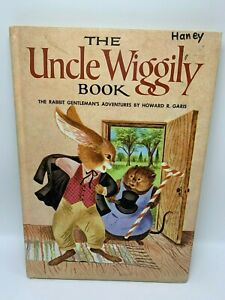 The Uncle Wiggily Book - Howard Garis / Carl & Mary Hauge 1976 tall HC