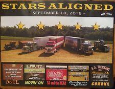 Big Rig Movie Truck Poster Peterbilt Kenworth Mack Duel Bandit Convoy Bj Bear