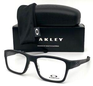 Oakley Splinter OX8077-0154 Stain Black / Demo Lens 54mm Eyeglasses
