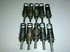 Lot Of 10 Government 14 28 Micro Stop Countersink Holder Cage Aviation Tool