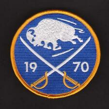 NHL BUFFALO SABRES 40TH ANNIVERSARY JERSEY PATCH 2011