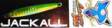 Jackall LaserJig Centre Balance Casting 40g COLOR: GREEN FLASH 54095
