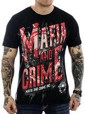 Figurbetonte Mafia & Crime Kurzarm Herren-T-Shirts