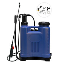 Watering Pressure Spray Backpack Can Flower Grass Lawn Plant Sprayer Garden Weed