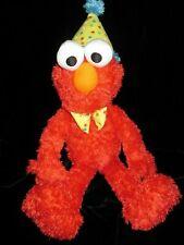 "GUND Sesame Street Elmo Happy Birthday Party Hat Tie Plush 22"" TRUSTED SELLER"
