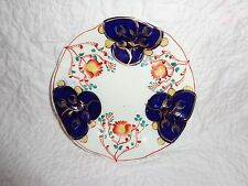 "19th.c Antique Gaudy Welsh Toddy Plate, Tulip Pattern Variant, 6"" Diameter"