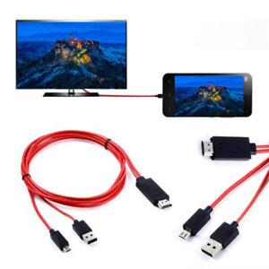 PKPOWER 1080P MHL Micro USB HDMI HDTV AV TV Cable Adapter For LG Spectrum phone