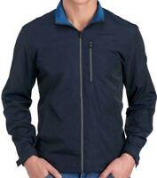 Michael Kors Men's Mesh Blue Tech Lightweight Jacket $150 Size S,M,L,XL,XXL