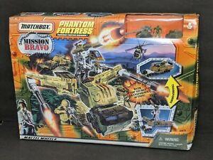 Vintage 1998 Matchbox Mission Bravo Phantom Fortress Nib Hard To Find