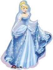 CINDERELLA SUPERSHAPE FOIL BALLOON PRINCESS LARGE PARTY DECORATION 71CM X 84CM