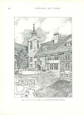 1902 City Of Bradford Memorial Queen Victoria Ascot Priory New Wing
