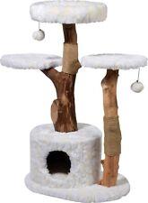 """Design Kratzbaum """"Frosty"""" mit Naturstämmen, Spielbaum Katzenbaum Kletterbaum"""