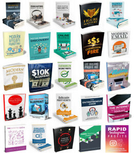 100 Make Money Cash Online Affiliate Marketing Books With Master Resell Rights