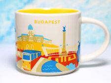 + STARBUCKS City Mug + BUDAPEST + YOU ARE HERE YAH + NEU Tasse + SKU + Hungary +