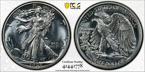1937 PROOF WALKING LIBERTY HALF DOLLAR 50C PCGS CERTIFIED PR 65 (778)