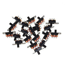 3Pin SPDT Micro PCB Slide Switch Latching Toggle for DIY Power Projects 20pcs