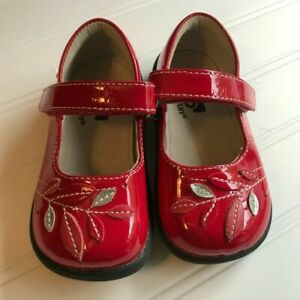 See Kai Run red patent leather Mary Janes shoes toddler 6
