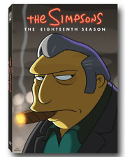 The Simpsons Season 18 TV Series DVD Set New FAST SAME DAY SHIP 1-3 DAY MAIL