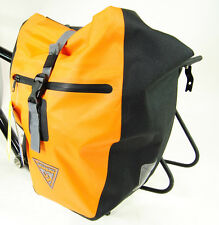 NEW Seattle Sports Company Rain Rider Bicycle Pannier Orange Single