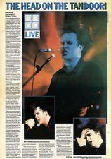2/5/92Pgn33 THE CURE AT BRADFORD ST GEORGE'S HALL ARTICLE & PICTURES