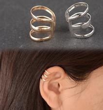 Bague d'oreille argentée