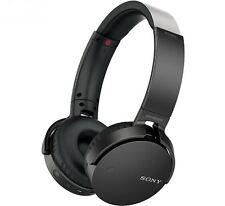 Sony Extra suono dei bassi senza fili Bluetooth per Cuffie Auricolari NFC One-Touch Nero
